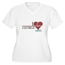 I Heart George - Grey's Anatomy Women's Plus Size