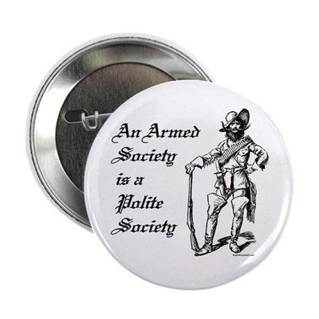 "An Armed Society 2.25"" Button (10 pack)"