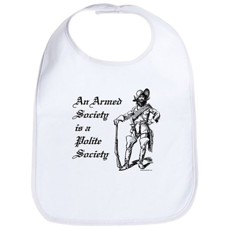 An Armed Society Bib
