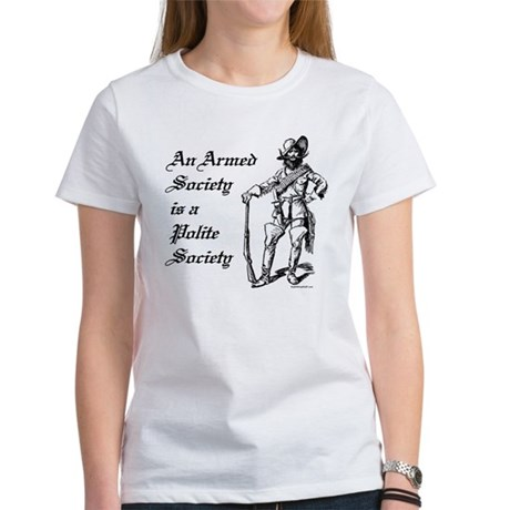 An Armed Society Women's T-Shirt
