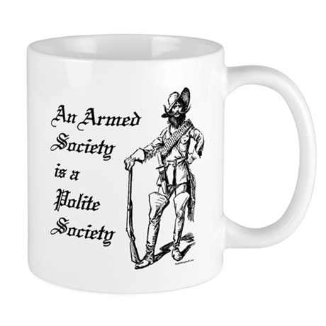 An Armed Society Mug