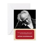 Arthur Schopenhauer Anti-Valentine's Day Card