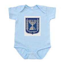 State of Israel 1948 Emblem Infant Creeper