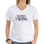 A Hard Viking is Good to Find Women's V-Neck T-Shi