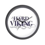 A Hard Viking is Good to Find Wall Clock