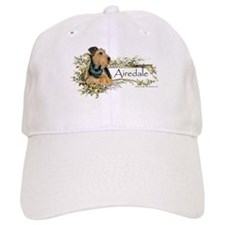 Vintage Airedale Baseball Cap