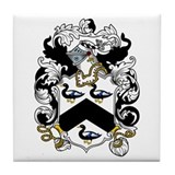 Henshaw Coat of Arms Tile Coaster