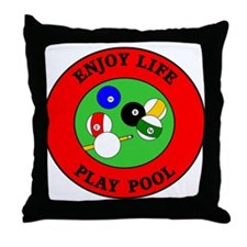 Enjoy Life Play Pool Throw Pillow