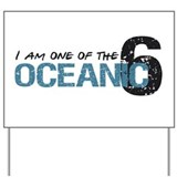 1 of oceanic 6 Yard Sign