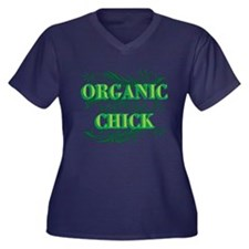 Organic Chick Plus Size T-Shirt