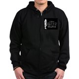 Lost- Shadow of the statue Zipped Hoodie