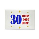 Fun 30th Birthday Rectangle Magnet