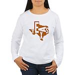 Texas Football Women's Long Sleeve T-Shirt
