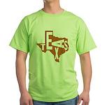 Texas Football Green T-Shirt