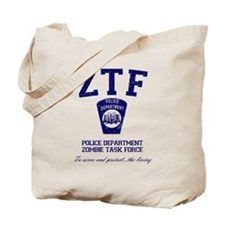 Zombie Task Force Tote Bag