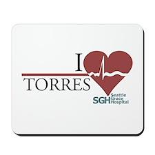 I Heart Torres Mousepad