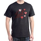 Heart Lost Dark T-Shirt