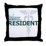 Seattle Grace Resident Throw Pillow