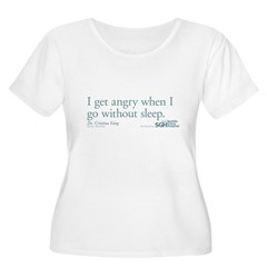 I get tired... - Grey's Anatomy Women's Plus Size