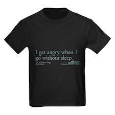I get tired... - Grey's Anatomy Kids Dark T-Shirt
