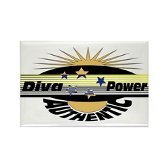 Diva Power Rectangle Magnet