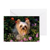 Flowered Greeting Card