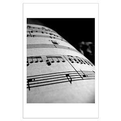 Sheet Music Large Poster