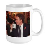Gordon Brown & Tony Blair Large Coffee Mug