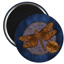 Copper Dragonfly Magnet