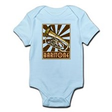 BandNerd.com: Retro Baritone Infant Bodysuit