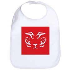 Red Tiger Logo Bib
