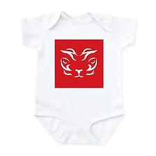 Red Tiger Logo Infant Bodysuit