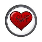 Love Tat Wall Clock