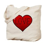 Love Tat Tote Bag