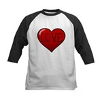 Love Tat Kids Baseball Jersey