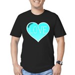 Love Tat Men's Fitted T-Shirt (dark)
