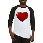 Love Tat Baseball Jersey