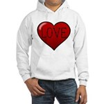Love Tat Hooded Sweatshirt