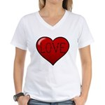 Love Tat Women's V-Neck T-Shirt
