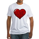 Love Tat Fitted T-Shirt