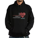 I Heart Grey's Anatomy Hoodie