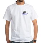 Husky Logo White T-Shirt