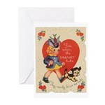 Crazy Hat Valentine Greeting Cards (Pk of 20)