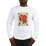 Crazy Hat Valentine Long Sleeve T-Shirt