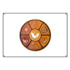 Interfaith Symbol - Banner