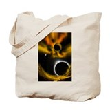 Unique Comets and eclipses Tote Bag