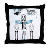 Unique Him Throw Pillow