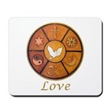 "Interfaith ""Love"" - Mousepad"