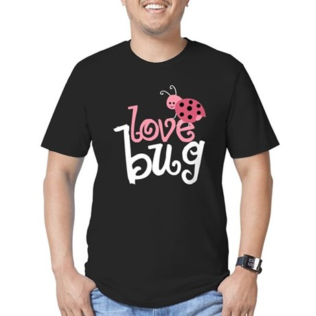 Love Bug Men's Fitted T-Shirt (dark)