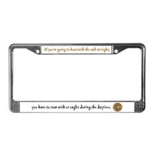 Unique Hoot License Plate Frame